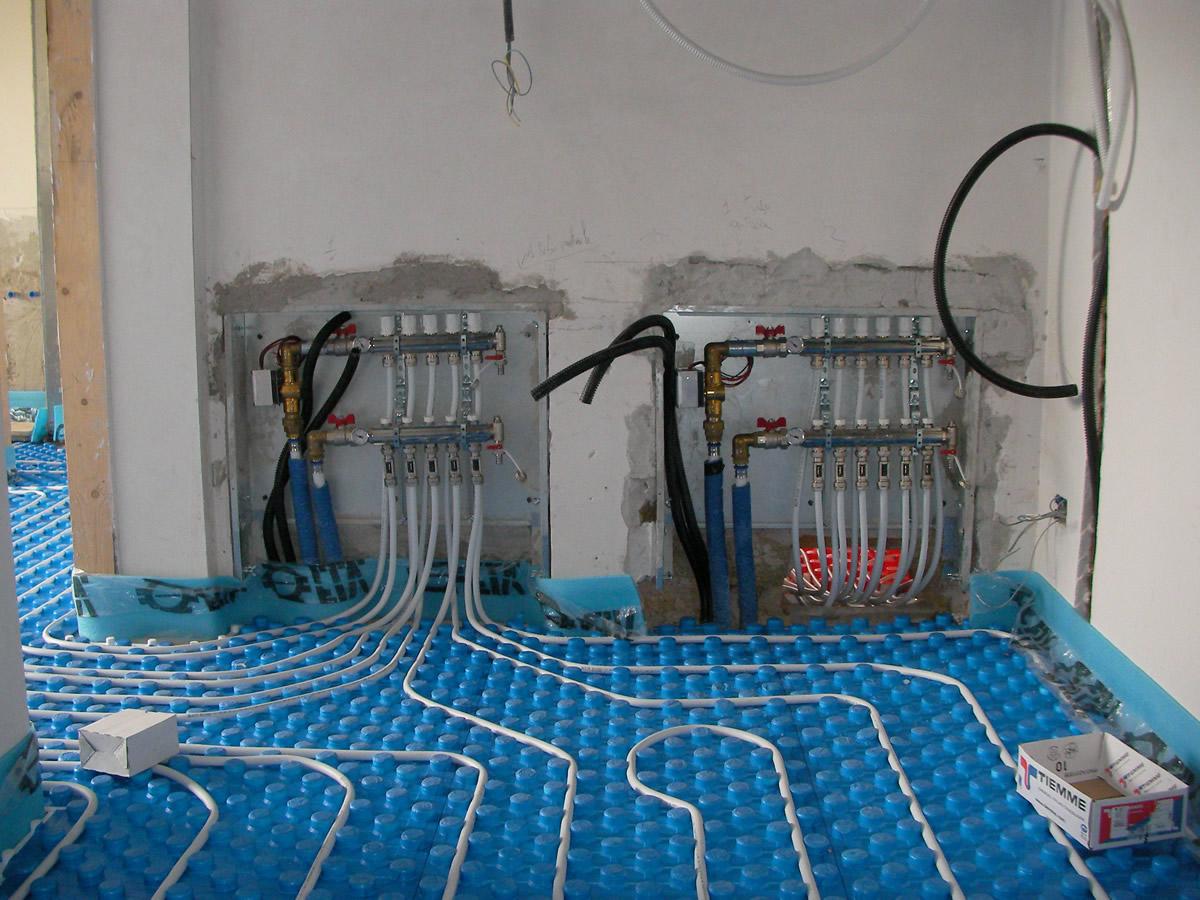 impianti termici a pavimento